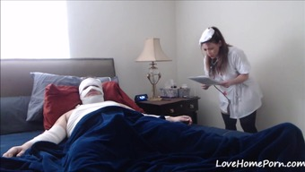 Attractive Patient Gets Recovered By The Kinky Beginner Healthcare Provider
