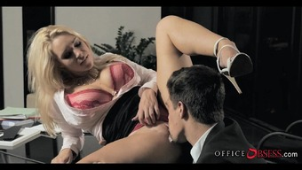 Blonde Milf Is Attractive As Fuck At Work