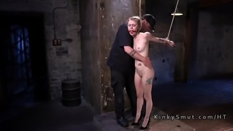Gagged Black Spanked And Crimson Tapped