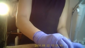 Waxing By The Spanish Language Girl On Concealed Cam Part1