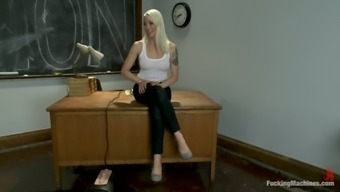 Index Tutor Gets Hogtied And Balled By A System