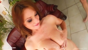 Great Boobed Jennifer S Gets Her Titties Fucked Gonzo Trend On
