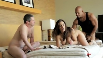 Exciting Raylene Gets Fucked By Shane Diesel In Front Of Her Cuckold