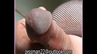 Guys Stripping Pissing And Cumming Very Difficult. Striptease Mankind Lucky Shower Sperm