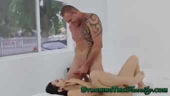 Twisted Youngster Rides Stepdad
