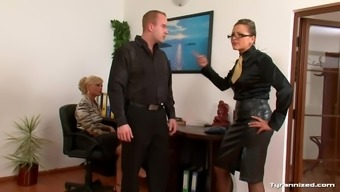 Female In Blouses Try Using A Guys Sub