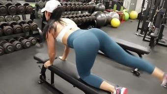 Yes!!! Physical Training Sizzling Booty Warm Cameltoe A Hundred
