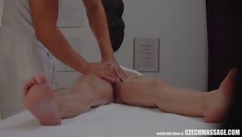 Big Tits Bitch Seduced Her Masseur To Challenging Love-Making