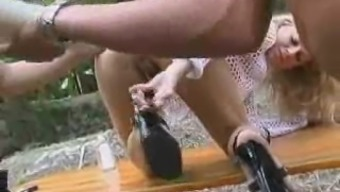 Woods Fencepost Anal Fuck By Snahbrandy