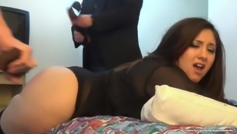 Two Different Police Strap Her Round Ass - (Rapid - Lynn Casey)