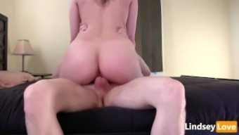 Amazing Using &Amp; Immersed Creampie By Using Lindseylove