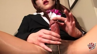Nerdy Shemale Girl Goes Wild Environment And Reveals The Professional Sections