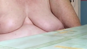 Mum In Regulation 76 Years Of Age Tits