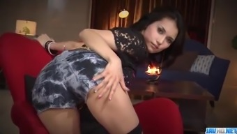 Horny Threesome Pornography Action Along Fitted Maria Ozawa