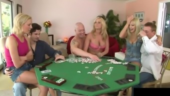 Texas Hold Em Animals Is Also An Awesome Orgy With Junk Yearning Blondes