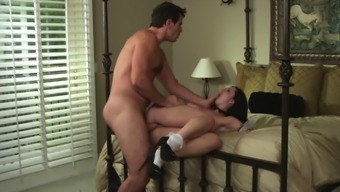 Beautiful Maid With Prolonged Black Hair Color Taking Pleasure In A Extreme Christian Missionary Style Fuck