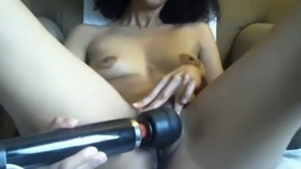 Minimal Tittied Senior Moaner Plays By Using Clit For Most People