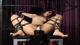Sexy Date Is Bound And Fucked By Great Equipment