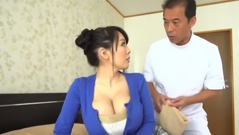 Despite Her Smallish Frame This Japanese People Bomb Shell Has Immense Juicy Bust