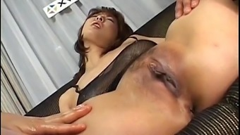 Ryo Hirase From Asia Baby Doll In Threesome Gets Believed Over And Burst