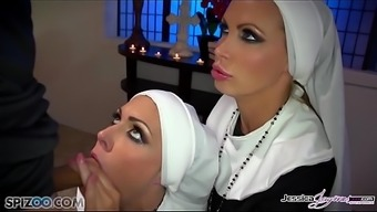 Jessica Jaymes - Mick Fucks Jessica And Nikki In The Community Center