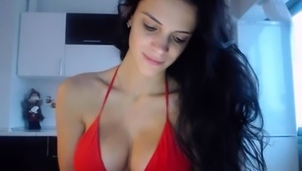 Young Adult Newwildcpl Pulsating Boobs On Make It Digicam