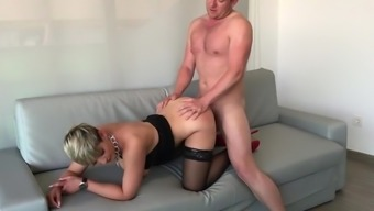 Lovely Girl Turned Out To Be Fucked Among The Butt