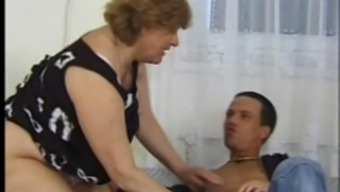 Forlorn Excess Weight Czech Woman Masturbating And Pleasing A Lean Stud