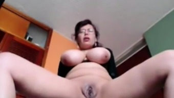 Busty Housewife Liza Toying Living In Your Own Home