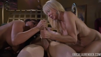 Malicious Cock-Suckers Claudia Most Gorgeous And Erica Lauren Within The Threeway