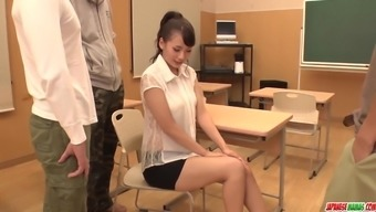 Yui Oba Gets Original Phallus To Actually Value Her Pussy And Ass