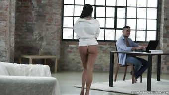 Small-Titted Dark Lexi Layo Having Her Stormy Pussy Devastated