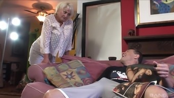 Astonishing Grow Older Baby Dana Hayes Gets Fucked Through A Attractive Younger Stud
