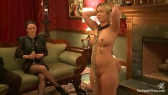 About Three Sexy Chicks With An Astounding Slavery Video Files