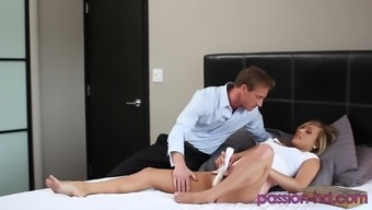 Damaging Kennedy Leigh Over For Some Excited Pussy Fucking