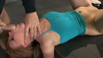 Foul Chick By Using Tied Up Hands Especially Your Fingers Marie Mccray Gives Deepthroat Blowjob