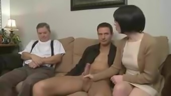 Mama Seduces Youngster And Allow Partner Follow