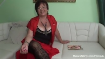 Voracious Age Keeps Her Stockings On For Fucking