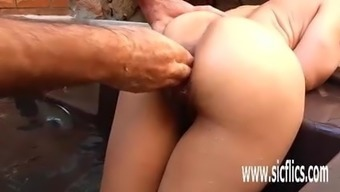 Anal Passage Fisting And Enormous Insertions Novice Hobo
