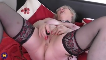 Old English Gran By Using Notably Starved Vaginal Canal