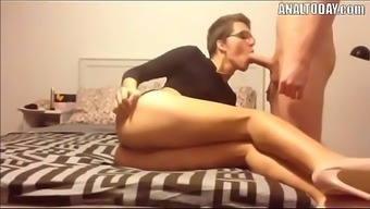 Anal Sex With The Use Of Small Haired Sexy The German Language Chick