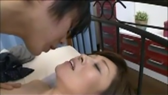 Japanese Mama Blackmailed By Action Youngster Six