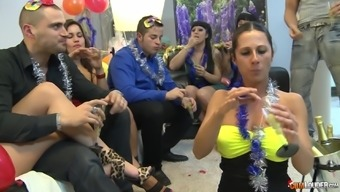 Hardcore Orgy Party With Gigi Love And Many More Sluts