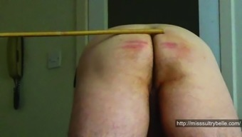 Charlie Caned By Miss Sultrybelle