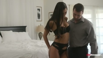 Sexy Nympho In Black Tights Gianna Dior Is Fucked In Front Of The Mirror