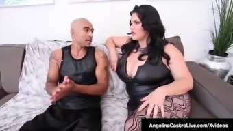 Plus Sized Cuban Angelina Castro &Amp; Bbc Get Sara Jay To Actually Provide!
