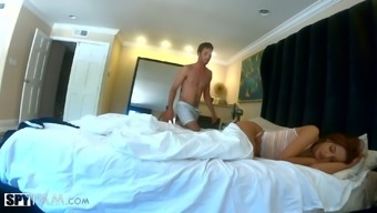 Luscious Babe Vanna Bardot Is Sharing Bed With Sex-Hungry Stepbrother