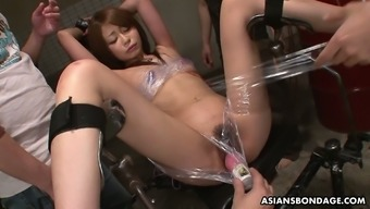 Asian Dudes Duck Pussies And Mouths Of Two Beautiful Japanese Chicks