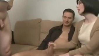 Mom Seduces Son And Lets Husband Watch