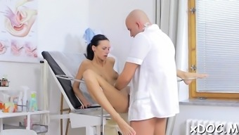 Hot Teen Hottie And Her Doctor Are Making Love